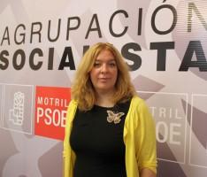 Flor Almón, portavoz del Grupo Municipal del PSOE de Motril-w1208-h1200