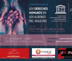 CONFERENCIA 'DERECHOS HUMANOS'