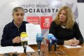 JOSÉ LUIS HERNÁNDEZ Y FLOR ALMÓN (PSOE) (Foto: E.F.)