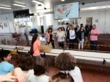 LA DELEGADA DEL GOBIERNO, SANDRA GARCÍA, ACOMPAÑADA DE CARGOS PÚBLICOS VISITA LAS INSTALACIONES DE LA LONJA PESQUERA (Foto: El Faro)