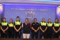 NUEVOS POLICÍAS EN ALMUÑÉCAR JUNTO AL DELEGADO DE SEGURIDAD MUNICIPAL (Foto: El Faro)