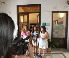 PRESENTACIÓN DEL PROGRAMA JUVENIL DE LA DIPUTACIÓN (Foto: El Faro)