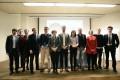 Una empresa especializada en cultivos marinos y otra en plantas industriales, Premios Andalucía Emprende 2015. En la instantánea la delegada de la Junta en Granada y los premiados (Foto: El Faro)