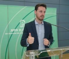El delegado territorial de Economía y Empleo de la Junta de Andalucía, Juan José Martín Arcos (Foto: El Faro)