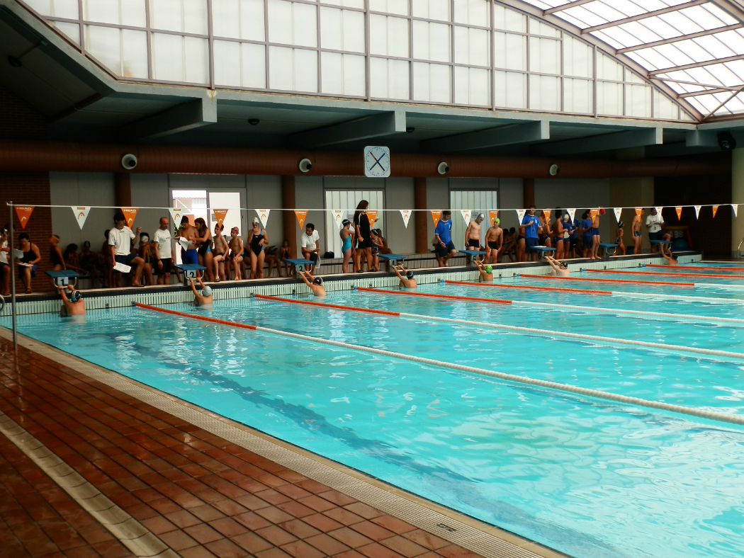 Campeonato en la piscina municipal de almu ecar w1050 for Piscina municipal de granada