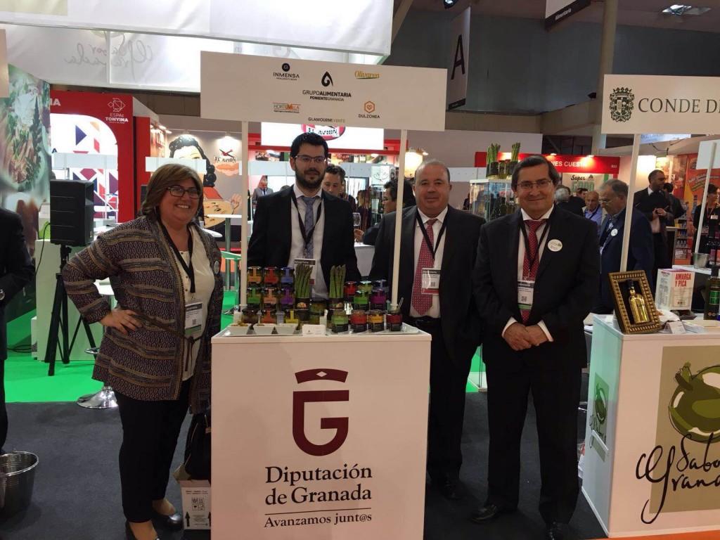 19 empresas y 100 productos granadinos est n presentan en for Ferias barcelona hoy