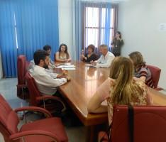 REUNIÓN DE LOS REPRESENTANTES DE LOS PARTIDOS POLÍTICAS, EN MOTRIL, QUE CONCURREN A LAS ELECCIONES DEL 26-J (Foto: El Faro)
