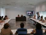 Momento del encuentro 'La Mujer en el Sector Pesquero' (Foto: El Faro)