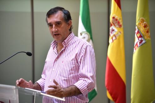 MANUEL GÓMEZ, DIPUTADO DE RECURSOS HUMANOS, ECONOMÍA Y PATRIMONIO (Foto: El Faro)