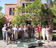 UN GRUPO DE TURISTAS INGLESES VISITAN LA OFICINA DE TURISMO SEXINANA (Foto: Archivo El Faro)