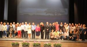 Presentación del calendario solidario de Aprosmo en Motril (Foto: El Faro)