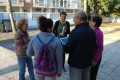 ARAGÓN EXPLICA A MADRES DE ALUMNOS LOS EFECTOS EN SANEAMIENTO (Foto: El Faro)