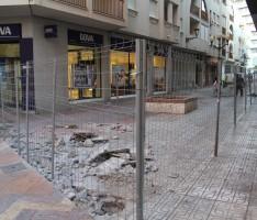 COMIENZAN LAS OBRAS EN CALLE CERVETERI (Foto: El Faro)