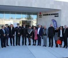 Foto de familia durante la inauguración de la nueva estación de Autobuses (Foto: El Faro)