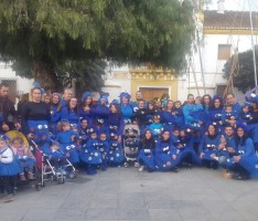 UN GRUPO DE PERSONAS DISFRAZADAS EN EL CARNAVAL DE ÓRGIVA (Foto: El Faro)