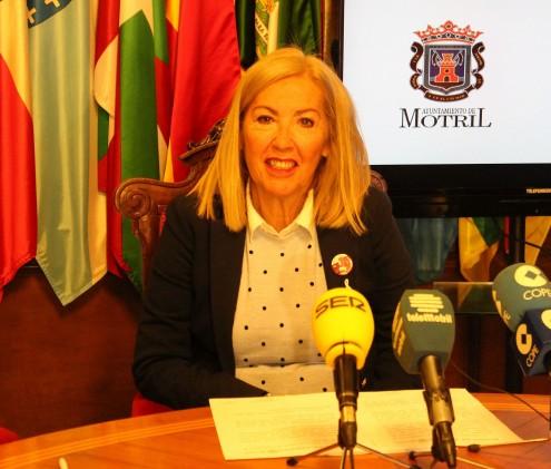 Mª ÁNGELES ESCÁMEZ, TENIENTE DE ALCALDE DE SEGURIDAD CIUDADANA EN MOTRIL (Foto: El Faro)