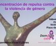 DAMOS LA CARA, CONCENTRACIÓN DEL DÍA 25 DE MARZO PASADO (Archivo)