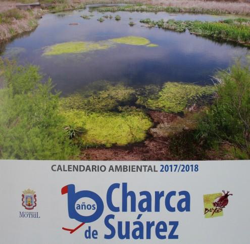 Portada del calendario ambiental de la Charca de Suárez