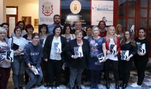 Foto de familia durante la presentación de la Agenda Igualdad y Corresponsabilidad 2017 (Foto: El Faro)