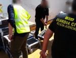 GUARDIA CIVIL, INCAUTACIÓN DE DROGA POR PARTE DE LOS AGENTES (Foto: Archivo G. Civl)
