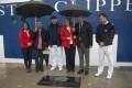 Placa en reconocimiento al velero Royal Clipper en el muelle de Costa del Puerto de Motril (Foto: El Faro)