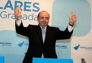 SEBASTIAN PÉREZ, REELEGIDO PRESIDENTE DEL PP DE GRANADA