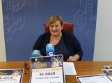 La teniente de alcalde responsable de Igualdad, Susana Feixas, durante la presentación del espectáculo 'Oh Cuba' (Foto: El Faro)