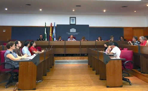 Momento de la Comisión Local de Absentismo (Foto: El Faro)