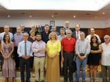 Foto de Familia de los miembros del Consejo Económico y Social (Foto: El Faro)