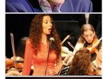 Juan Pinilla, Mely Zafra y la Orquesta Sinfónica de Atarfe (Foto: El Faro)