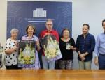 Presentación de los actos litúrgicos en Honor a la Virgen de la Cabeza por parte del concejal de Cultura y los miembros de la Hermandad de la Patrona (Foto: El Faro)
