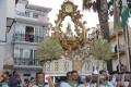 PROCESIÓN DE LA PATRONA DE ALMUÑÉCAR POR LAS CALLES DEL MUNICIPIO (Foto: El Faro)