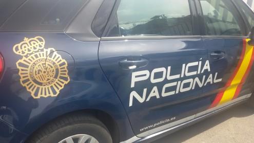 VEHÍCULO DE LA POLICÍA NACIONAL (Foto: P. Nacional)