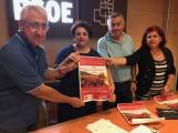 REPRESENTANTES SINDICALES Y EL PSOE SELLAN EL ACUERDO (Foto: El Faro)