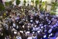 UNO DE LOS GRANDES MOMENTOS DEL CERTAMEN DE BANDAS EN SALOBREÑA (Foto: El Faro)