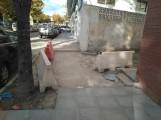 OBRAS EN LA ZONA DEL PARQUE (Foto: El Faro)