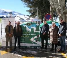 La Diputación de Granada y el Ayuntamiento de Monachil, con la colaboración de Ecovidrio y Ecoembes, dos entidades que promueven la sostenibilidad a través del reciclaje de envases ligeros y vidrios (Foto: El Faro)