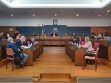 REUNIDA LA JUNTA GENERAL DE LA MANCOMUNIDAD DE LA COSTA, EN EL SALÓN DE PLENOS DEL AYUNTAMIENTO DE MOTRIL (Foto: El Faro)