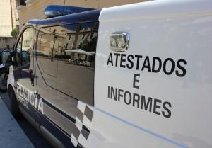 POLICÍA LOCAL DE MOTRIL, FURGONETA DE ATESTADOS E INFORMES (Foto: El Faro)