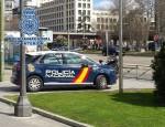 VEHÍCULO DE LA POLICIA NACIONAL EN TAREAS DE VIGILANCIA (Foto: P. Nacional)