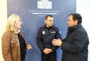 Mª ÁNGELES ESCÁMEZ, JOSÉ LUIS ROJAS Y MIGUEL ÁNGEL MUÑOZ (Foto: El Faro)
