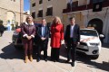 LAS AUTORIDADES PROVINCIALES Y LOCALES EN LA PRESENTACIÓN DE LOS NUEVOS VEHÍCULOS (Foto: El Faro)