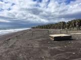 Playa Granada tras el último temporal (Foto: El Faro)