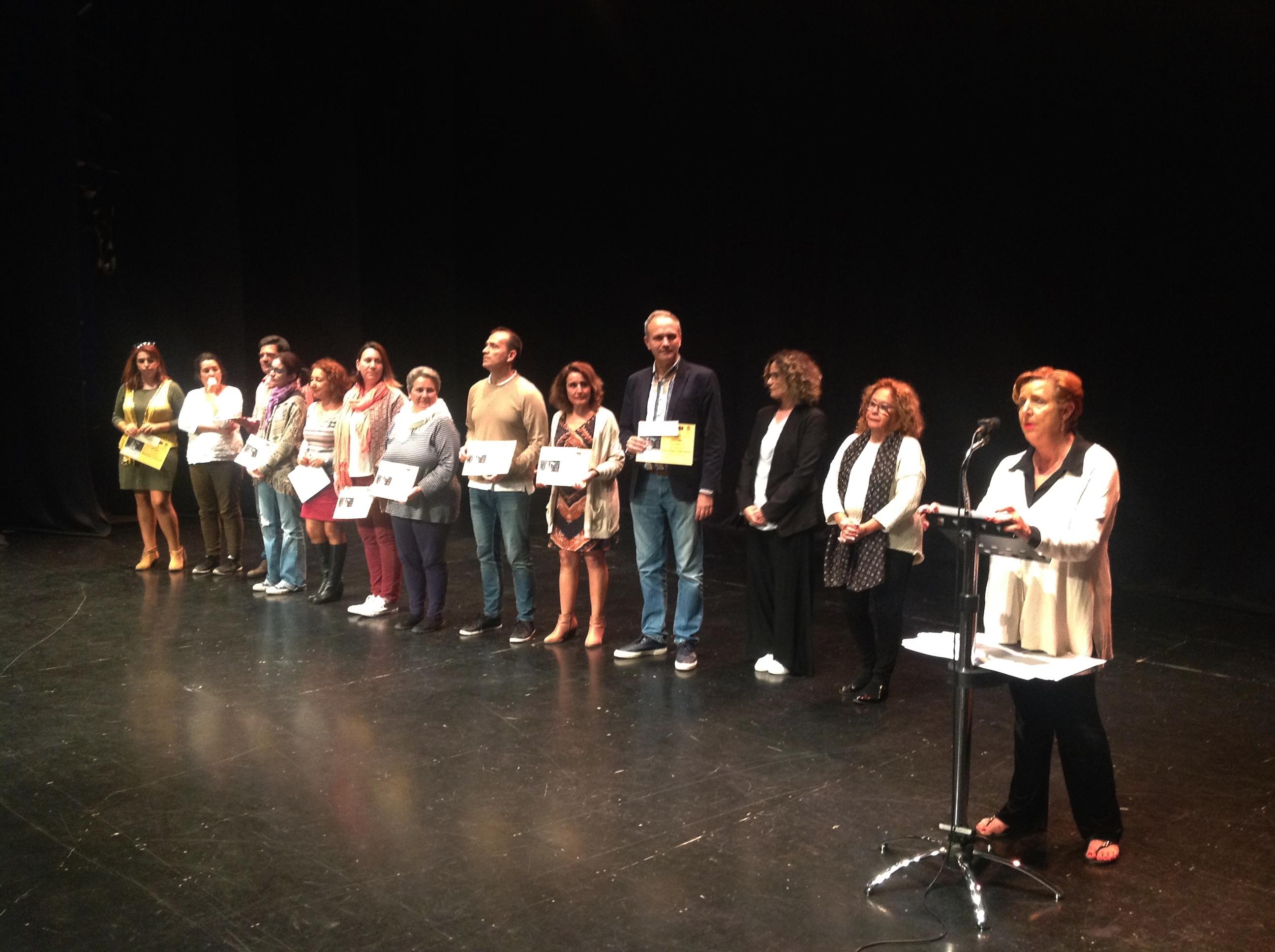 ACTO DE CLAUSURA DE LA ENTREGA DE LOS PREMIOS DEL CERTAMEN LITERARIO DE ALMUÑÉCAR (Foto: El Faro)