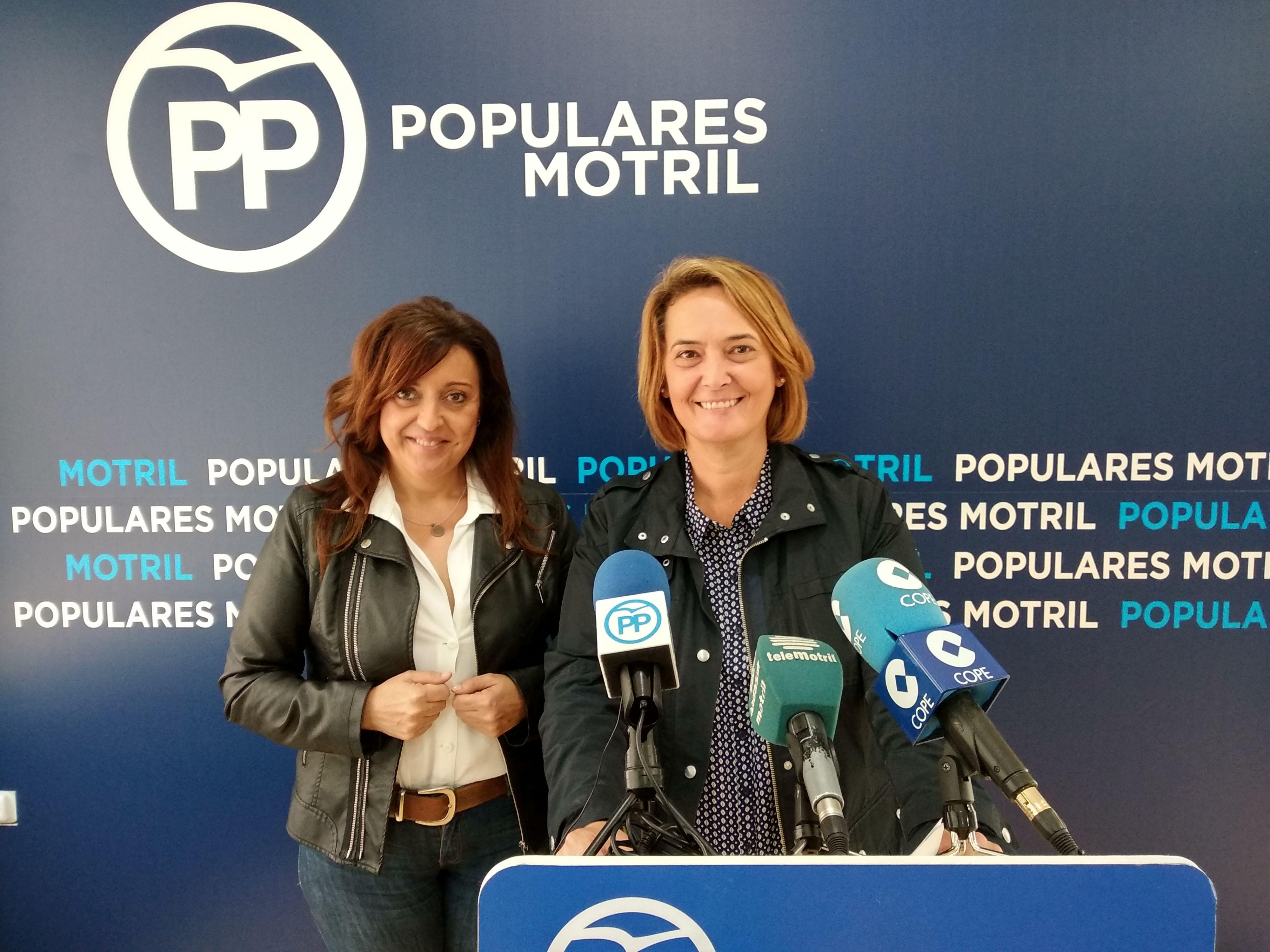 LUISA GARCÍA CHAMORRO Y ÁNGELES LÓPEZ CANO, EN RUEDA DE PRENSA (Foto: El Faro)