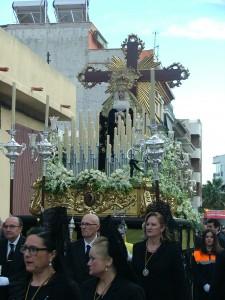 PRESIDENCIA Y PASO DE NTRA. SRA. DE LA SOLEDAD (Foto: El Faro)