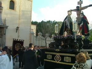 EL PASO DE LA VERACRUZ FRENTE A LA IGLESIA DE LA VICTORIA (Foto: El Faro)