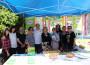 Mesa informativa del Día Mundial sin Tabaco, con la presencia del concejal Gregorio Morales (Foto: El Faro)