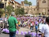 Niños, niñas y jóvenes disfrutan del Festival contra la Violencia de Género (Foto: El Faro)