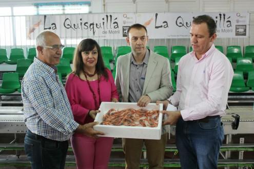 Autoridades y organizadores presentan la II Quisquillá de Motril (Foto: El Faro)